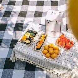 에코팩토리 피크닉 방수 대형 돗자리 캠핑매트 방수피크닉매트