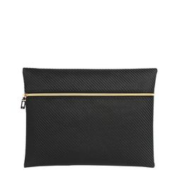 [10639] V2 CLUTCH BAG-C.BLACK (V2클러치백-C블랙)