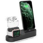 AHASTYLE 아이폰 11 에어팟 프로 애플워치 3in1 충전 거치대