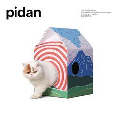 피단스튜디오 고양이 오두막 스크래쳐
