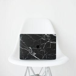 맥북 프로 16인치 블랙대리석 보호필름 스킨 케이스 커버