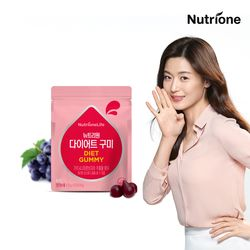 전지현 다이어트 구미젤리 35구미 포도맛 가르시니아 함유