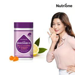 전지현 멀티비타민&미네랄 60구미 레몬맛