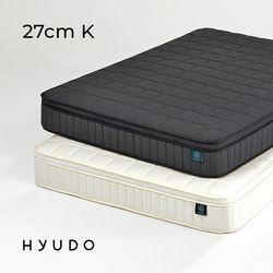 제주 27cm 필로우탑 포켓스프링 킹 침대 매트리스 (K)