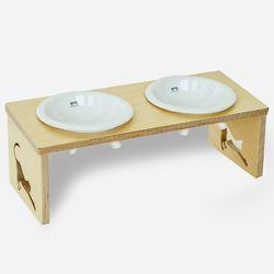 쿡맘T 2구-강아지 밥그릇고양이밥그릇