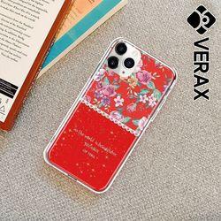 아이폰6 스프링 컬러 유니크 플라워 젤리 케이스 P497