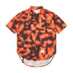ORANGE OVERSIZED SHORT SLEEVES SHIRTS PATTERN