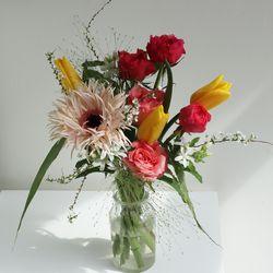 [꽃 정기구독] 예쁜건 더 크게 한아름 L 4회