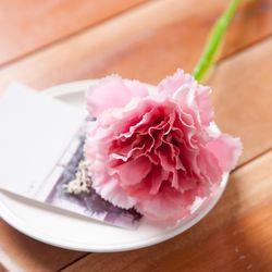 한송이 카네이션 가지 55cm 조화 꽃 어버이날 FAICFT
