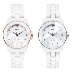 여성시계 여자시계 팔찌시계 세라믹시계 손목시계 D-9018A