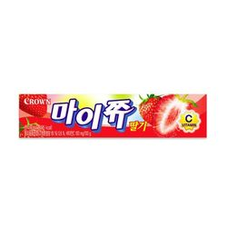 크라운 마이쮸 딸기 스틱 44g