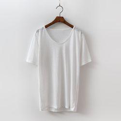 Linen Cotton Bio U Tee