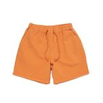 SULFUR DYE EASY SHORTS (HOT ORANGE)