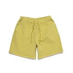 SULFUR DYE EASY SHORTS (SUMMER LIME)