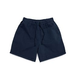 SULFUR DYE EASY SHORTS (WASHED NAVY)