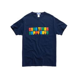 RAINBOW GOOD TIMES TEE (DARK NAVY)