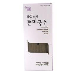 평창봉평 소애 100 현미국수 400g 1개