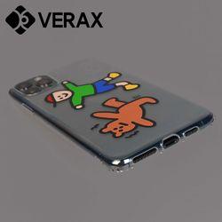 아이폰6 개구쟁이 곰돌이 캐릭터 젤리 케이스 P504