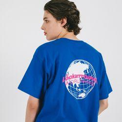 글로벌 로고 티 (코발트)