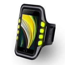 HICKIES 아이폰 SE2 LED 라이트 고급 스포츠 암밴드