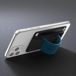 신지파우치 밴드 실리콘그립 핸드폰 카드케이스