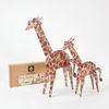 기린 종이블럭 동물블럭 역할놀이 장난감