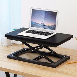 라이프스토리 스탠딩테이블 LS102 블랙B 높이조절 책상