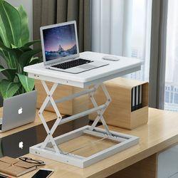 라이프스토리 스탠딩테이블 LS102 화이트A 높이조절 책상