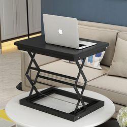 라이프스토리 스탠딩테이블 LS102 블랙A 높이조절 책상