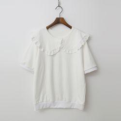 Sailor Frill Sweatshirt - 반팔