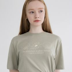 SHELL T (OLIVE GREEN)