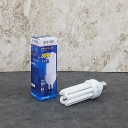 장수 30W 삼파장 전구 (주광색) EFQU30EX-D
