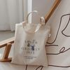 Canvas two way bag
