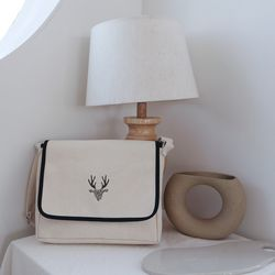 Ivory Flap cross bag