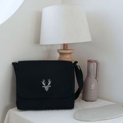 Black Flap cross bag
