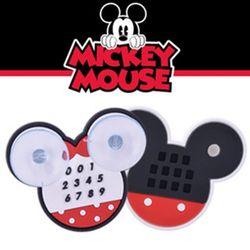(PMC)미키마우스 흡착식 주차알림판 원형(소)주차번호판