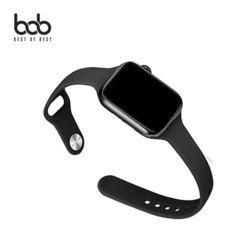 bob 애플워치 슬랜더2 심플스포츠 밴드 실리콘 스트랩