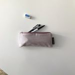 라벤더 체크 필통(Lavender check pencil case)