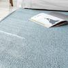 라탄룩 자카드평직 블루 러그 - 200x290cm