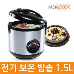 맘쿡 원터치 전기보온 밥솥 5-6인용 DMC-150