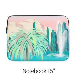 수영장 나무 (노트북 15인치 파우치)