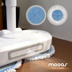 무아스 클린마스터 무선 전동 물걸레 청소기