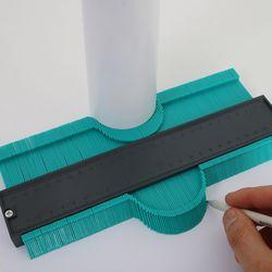 시스룸 컨투어 게이지 모양따기 윤곽따기 공구 10인치 (25cm)
