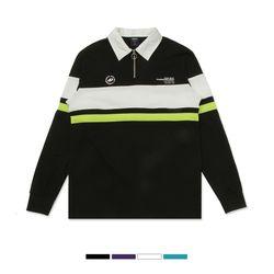 컬러블록 럭비 티셔츠_SPLW911C01