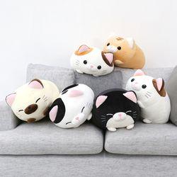 모찌모찌 만두 고양이 쿠션 인형 45CM 5종 모음