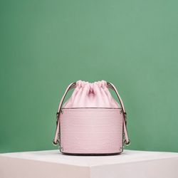 GELA BUCKET CROSSBODY BAG - LILAC