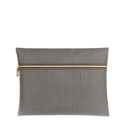 [10640] V2 CLUTCH BAG-GOLD SILVER (V2클러치백-골드실버)