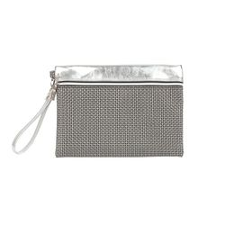 [10720] V4 CLUTCH BAG-GOLD SILVER S (V4클러치-골드실버S)