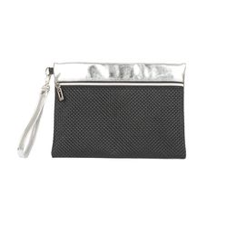 [10749] V4 CLUTCH BAG - SILVER BLACK  (V4클러치- 실버블랙)