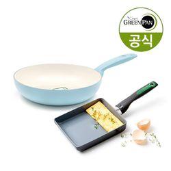 그린팬 안도라 팬24cm + 리오 계란말이팬